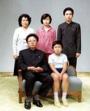 Kim Jong II and and family