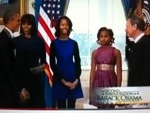 THE INAUGURAL, OBAMA TAKES OATH FOR SECOND TERM (2/2)